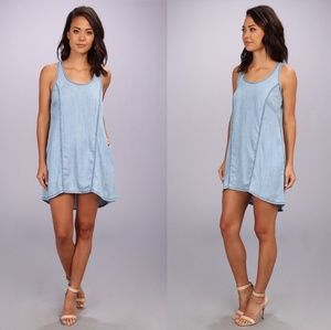 Anthropologie Michael Stars Chambray Dress